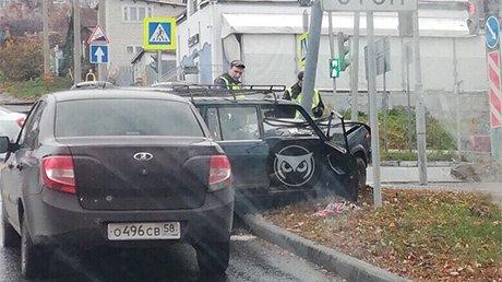 На перекрестке Красной и Кураева произошла авария