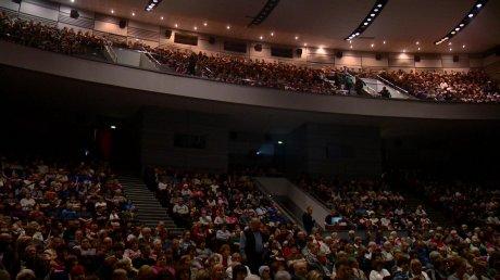 В Пензе концерт Марины Девятовой собрал полный зал поклонников
