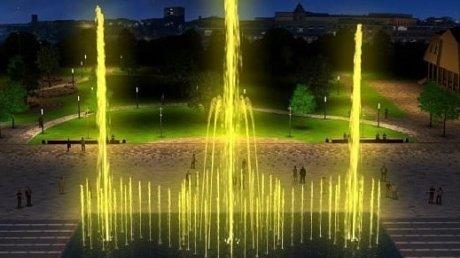 В соцсети опубликованы виды Фонтанной площади после открытия